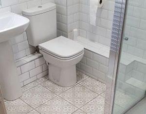 Re Tiling A Bathroom Floor