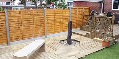 Handyman York decking and fencing work