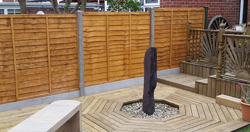 New Fencing and Decking Repair